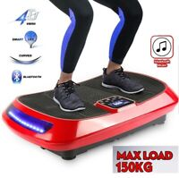 4D 450W Bluetooth Vibration Platform Body shaper Massage Fitness Slim Machine