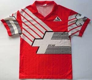 Switzerland Vtg Blacky Football Jersey Shirt 1990/1992