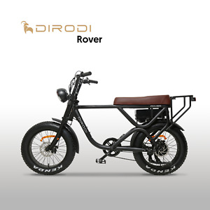 DIRODI Rover 750W 48V Electric Bike EBike Bicycle Fat Tyre Vintage Design