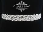 MARILYN BRIDAL SASH, Bridal Belt, Wedding Dress Sash, Vintage Rhinestone