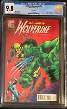 All New Wolverine #31 CGC 9.8 Mike Perkins Incredible Hulk 181 Homage Variant!