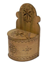 Handmade handicraft wooden box for Spices Salt Curry Sugar  Pepper or other NEW