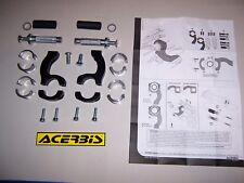 Anbau Kit 22+28 mm Alu+Stahl Lenker Acerbis Handprotektoren Rally Pro Multiplo E