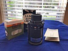 Vintage Ll Bean Aluminum Alpine Lantern Camping w/ Original Box and Instructions