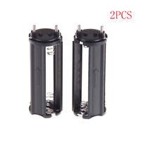 2pcs noir support de pile AAA pour 3 x 1.5V piles torche lampe de poche BE_ftfw