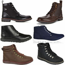 Firetrap Lace Up Synthetic Boots for Men