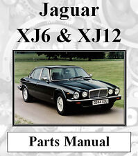 JAGUAR XJ6 & XJ12 1, 2 &3 SPARE PARTS MANUAL DIGITAL DOWNLOAD
