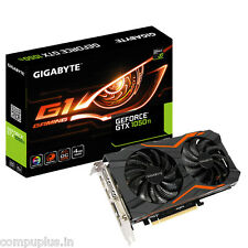 GIGABYTE GTX 1050 Ti G1 Gaming 4GB GDDR5 Graphic Card GV-N1050TG1 GAMING-4GD