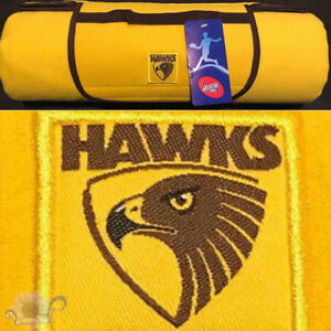 Hawthorn Hawks AFL Picnic Rug | Polar Fleece Front | Water Resistant Backing