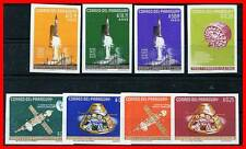 PARAGUAY 1964 SPACE  imperf.  FULL SET Mi#1319-26 MNH ** neuf CV.26,00 EURO