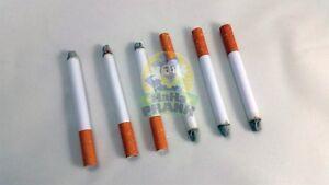 6 Fake Puff Cigarettes - Fake Magic Smoke Trick Gag Prop Costume Accessory Toy