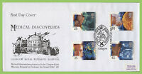 G.B. 1994 Medical Discoveries set on GRMH First Day Cover, Glasgow