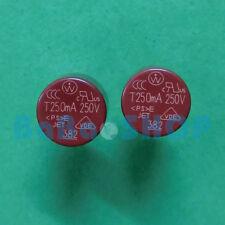 5pcs T250mA 250V 250mA TR5 Miniature Slow Blow Micro Sub Min Fuse Brand New