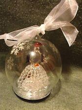 Lighted Penguin Christmas Ornament In Box