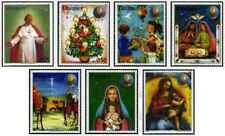 Timbres Religion Noel Paraguay 2074/80 ** lot 25965