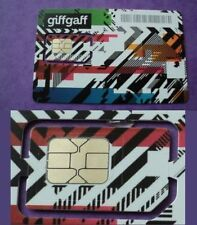 PROMO ITALIA GIFFGAFF O2  PAY AS YOU GO SIM CARD UK STANDARD MICRO NANO 5£ FREE