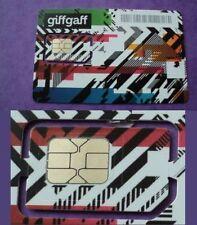 Scheda telefonica cellulare SIM Card INGLESE UK ricaricabile Standard Micro Nano