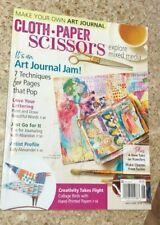 Cloth Paper Scissors Magazine May June 2018