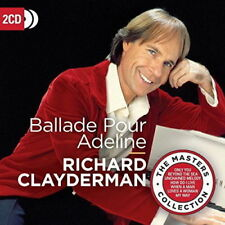 RICHARD CLAYDERMAN BALLADE POUR ADELINE 2 CD (PRE-Release 27th July 2018)