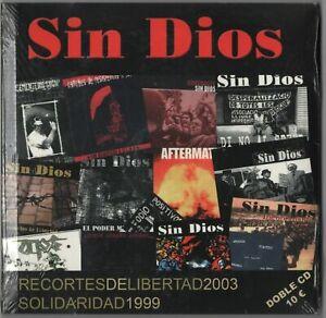 Sin Dios – Recortes De Libertad / Solidaridad (2xCD 2003) Spanish Hardcore Punk