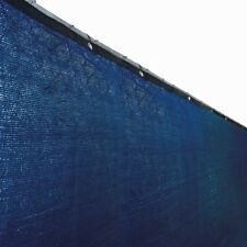 ALEKO Fence Privacy Screen Outdoor Backyard Fencing Windscreen 4 x 25 Ft  Blue