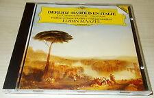 BERLIOZ-HAROLD EN ITALIE-WG FULL SILVER RING CD 1985-LORIN MAAZEL-RARE
