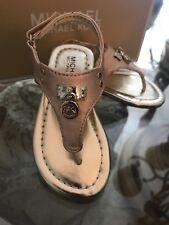 Sandals Michael Kors Kids/ Girls Rosalie Gold Gold Sandals Little Girls Size 7