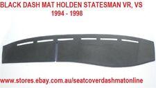 BLACK DASH MAT, DASHMAT HOLDEN STATEMAN VR,VS 1994-1998, BLACK