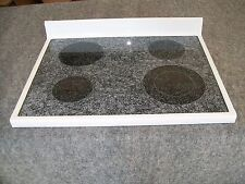 31721505WW AMANA RANGE OVEN MAIN TOP GLASS COOKTOP WHITE