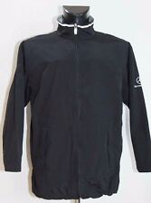 MENS MERCEDES BENZ ZIP JACKET COAT BLACK SIZE S M ( LABEL S) VGC