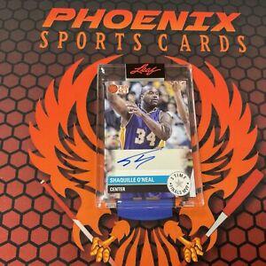 SHAQUILLE O'NEAL Encased Auto 11/12 2021 Leaf Pro Set Multi Sports Autograph PHX