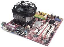 Mainboard und AMD CPU-Kombination mit 1 Prozessorkern