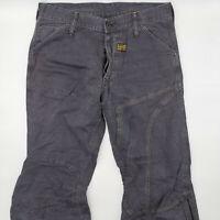 G-Star Concept Elwood W32 L34 schwarz Designer Denim Herren Jeans Vintage Hose