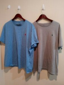 Lot of 2 Polo Ralph Lauren Mens cotton T-Shirt Size 2XL