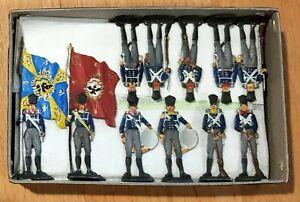 Zinnfiguren - Befreiungskriege 1812-15 - Preußen, bemalt