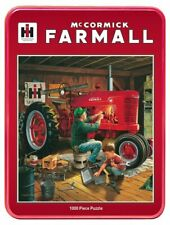 "Farmall Puzzle in a Tin ""Forever Red"" 1000 pieces"