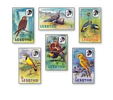 BRC0001 Lesotho birds  6 pcs MNH LESOTHO