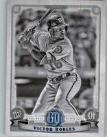 2019 Topps Gypsy Queen Black & White 43/50 VICTOR ROBLES Nationals #9