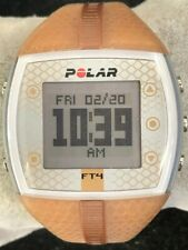 Polar FT4 Womens Digital Heart Rate Monitor in Tan Watch Only New Battery