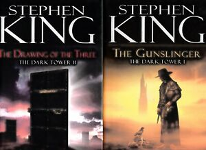 Stephen King REVISED GUNSLINGER (FIRST/2ND) + DRAWING OF THE THREE (FIRST /1ST)