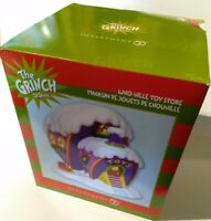Dept 56 Grinch Toy Shop Store  Christmas Village Who-ville retired rare new NIB