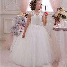 Flower Girls Dresses Baptism Wedding Holy Communion Princess Recital Ball Gowns