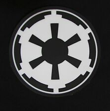 3D IMPERIAL GALACTIC EMPIRE STAR WARS LOGO ARMY GLOW GITD VELCRO® BRAND PATCH