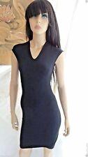 Stunning HELMUT LANG  COCOON STRECH COTTON DRESS SZ: P $280 NWT