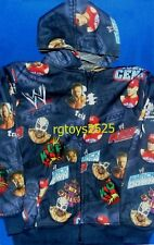WWE John Cena HHH Kofi Kingston Size 4-5 XS Sweatshirt Jacket Hoodie New childs