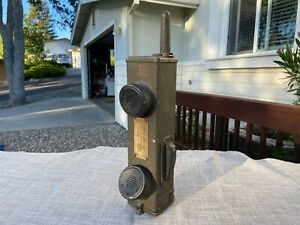 Signal Corps US Army Radio Receiver Transmitter Walkie Talkie BC-611-E