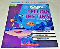 Disney Learning Workbook: Finding Dory: Level K: Telling The Time PIXAR