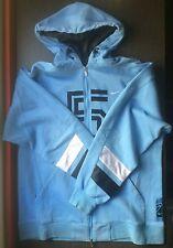 Nike Basketball Full-Zip Fleece Hoodie Sudadera Azul Talla M