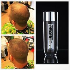Hair Illusion Hair Building Hair Thickening Fibers For Bald Spot Thin Hair Black