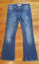 Vigoss Studio Flare Fit Jeans For Women Size 3 Distressed